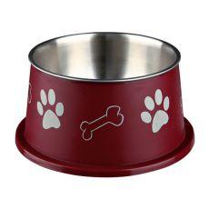 Posoda za pse z dolgimi uhlji, rjava – 0,9 L