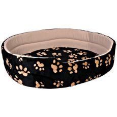 Charly postelja za pse in mačke, črna in bež - 50 x 43 cm