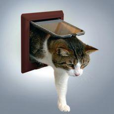 Rjava loputa za mačke - 4 načini zaklepanja