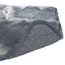 Termo podloga za pse v sivi barvi - 75 x 70 cm