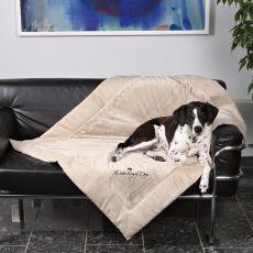 Odeja za psa King of Dogs - obojestranska, 100 x 70 cm