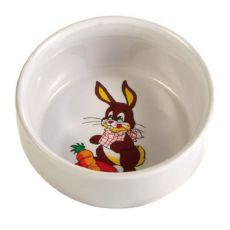 Keramična posoda za zajce - 300 ml/11 cm