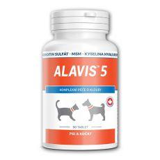 ALAVIS 5 za sklepe psov in mačk - 90 tablet