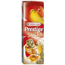Palčke za kanarčke Prestige Sticks, 2 kom - med, 60g