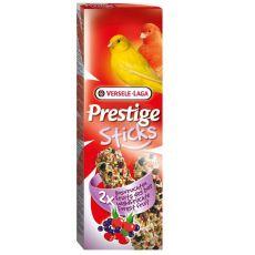 Palčke za kanarčke Prestige Stick, 2 kom - gozdni sadeži, 60g