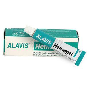 Gel ALAVIS Hemagel za hitrejše celjenje ran, 7 g
