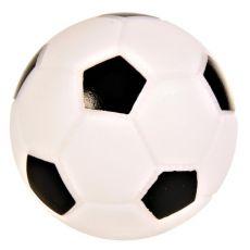 Igrača za psa iz vinila - nogometna žoga, 10 cm