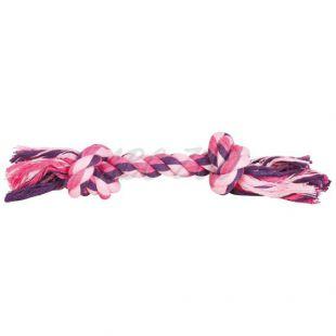 Bombažna vrv z vozli za pse - 28 cm