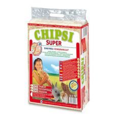 CHIPSI SUPER - mehka žagovina za glodalce, 60 L