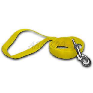 Povodec za pse - neonsko rumen, 2 x 120 cm