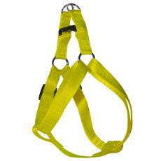 Pasja oprtnica, fluorescentno rumena, 1,6 x 30-45 cm