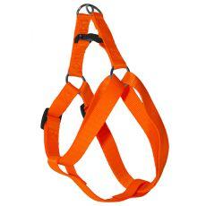 Pasja oprtnica - fluorescentno oranžna, 1,6 x 30-45 cm