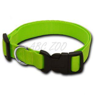 Neonsko zelena pasja ovratnica - 2 x 33-51 cm