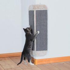 Mačji praskalnik iz sisala in pliša, kotni - 32x60 cm