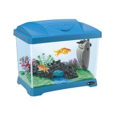 Plastičen akvarij CAPRI JUNIOR BLUE 21l