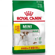 ROYAL CANIN MINI ADULT 8 kg + 1 kg