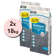 EMINENT Puppy Large Breed - 2 x 18kg