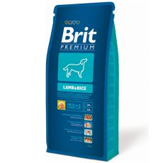 Brit Premium Lamb and Rice 15 kg