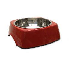 Posoda za pse DOG FANTASY, oglata - 1,40 L, rdeča