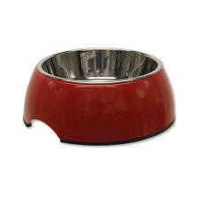 Posoda za pse DOG FANTASY, 0,35 L - rdeča