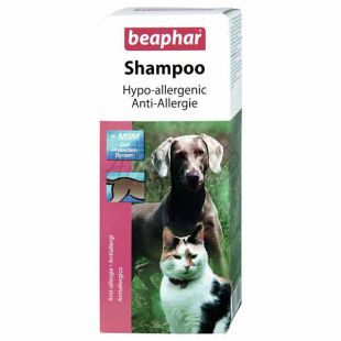 Hipoalergen šampon za pse in mačke, 200 ml