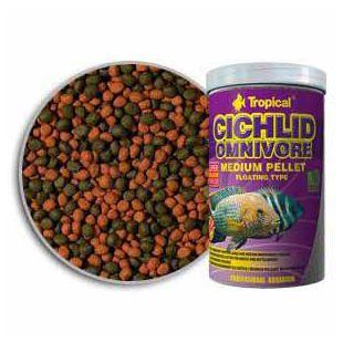 Ribja hrana TROPICAL Cichlid Omnivore Medium Pellet 1000 ml/360 g