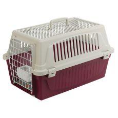 Transportni boks za pse in mačke ATLAS 20 OPEN znamke Ferplast z blazino
