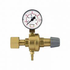"CO2 regulator tlaka - navoj W21,8x1/14"" z manometrom"