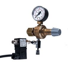 """Regulator CO2 + iglični ventil, elektromagnetični ventil, G3/4"""""""