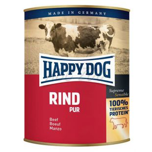 Happy Dog Pur - Rind/govedina, 800 g