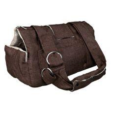 Prenosna torba Riley - rjava, 21 x 23 x 45 cm