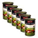 Konzerva GranCarno Fleisch Adult zajec + zelišča - 6 x 400 g