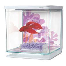 Plastičen akvarij MARINA Flower 2 l