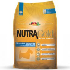 NUTRA GOLD HOLISTIC Indoor Adult Dog Microbite 3kg