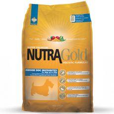 NUTRA GOLD HOLISTIC Indoor Adult Dog Microbite 3kg
