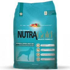 NUTRA GOLD HOLISTIC Salmon and Potato Adult Dog 15kg