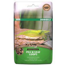 Hrana za kozice in rake Dennerle Shrimp King Pea & Leaf - obročki 30 g