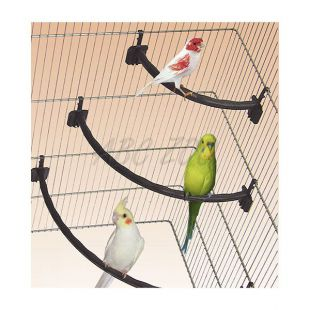 Plastična gred za ptice BELA - 1,2 x 15 cm