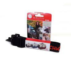 Trak za nošenje transportnih boksov za ljubljenčke – BALTIC – črn, 150 cm