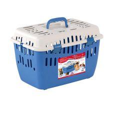 Transportni boks za ljubljenčke BINNY 2 – moder, 48 x 32 x 31 cm