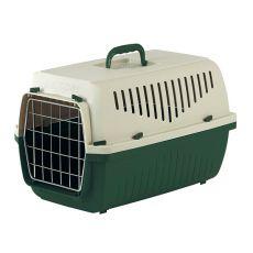 Transportni boks SKIPPER 2 F do 15 kg – zelen, 55 x 36 x 33 cm