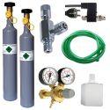 Komplet CO2 Professional z ventilom + nadomestna jeklenka 500 g