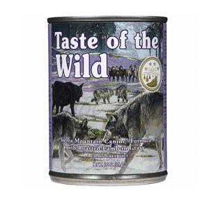 TASTE OF THE WILD Sierra Mountain Canine - konzerva, 390g