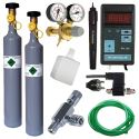 Komplet CO2 Professional + nadomestna jeklenka 500 g + pH regulator