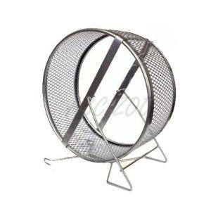 Vadbeno kolo za glodalce - kovinsko, 25 cm