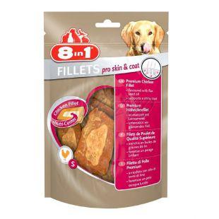 Fileji za pse 8 in 1 PRO SKIN AND COAT - 80 g