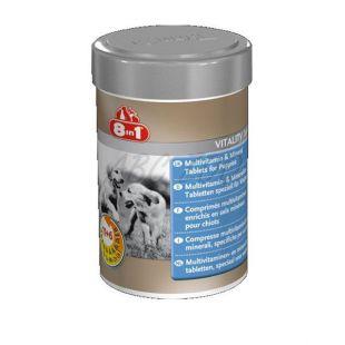 Vitamini za pasje mladiče 8 v 1 VITALITY JUNIOR - 100 tablet