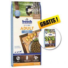 Bosch ADULT Fish & Potato  15 kg +3 kg BREZPLAČNO