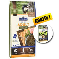 Bosch ADULT Poultry and Millet 15 kg + 3 kg GRATIS