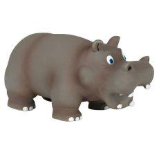 Igrača za psa iz lateksa - nilski konj, 17 cm